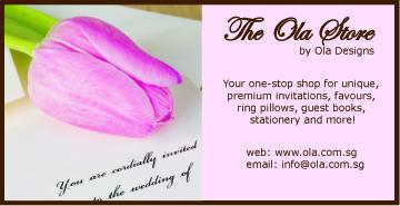 Ola Designs - Little Wedding Diary Wedding Services Directory