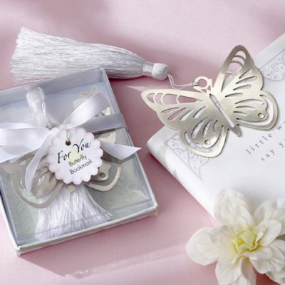 Butterfly Bookmark Wedding Favors